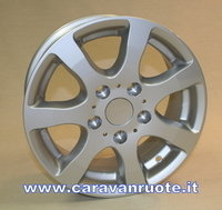 ALLOYWHEELS caravan Trailer