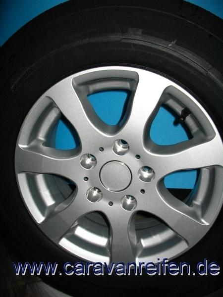 185r14c 104102n Security Kargomax 5 Gats Aluminium Wiel Oj14 5 Compleet Draaglast 900kg