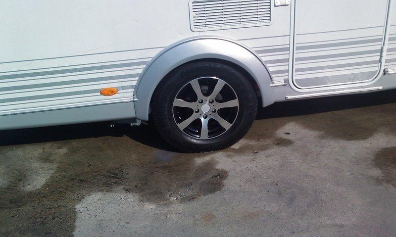 6Jx14 5 holes ALLOYRIM Caravan/ trailer MODELL *14*-5 BLACK-SILVER max   load up to 950 kg *LMC